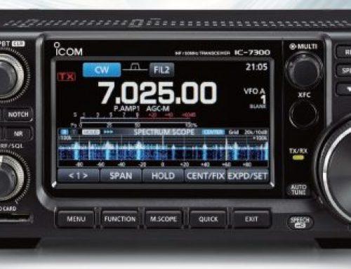 ICOM IC-7300 – Juni 2016