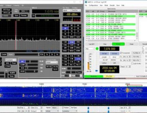 Digitala moderna JT65 och JT9 är fantastiska – del 1