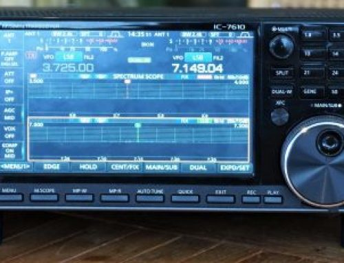 ICOM IC-7610 – Mar 2018