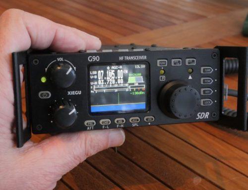 XIEGU G90 – SDRadio från Kina – Mar2019