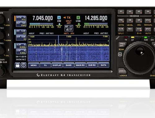 Förhandstitt Elecraft K4 – Sept 2019
