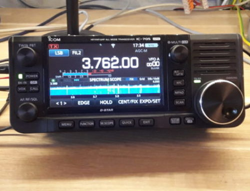 Under lupp – ICOM IC-705 – Sept 2020